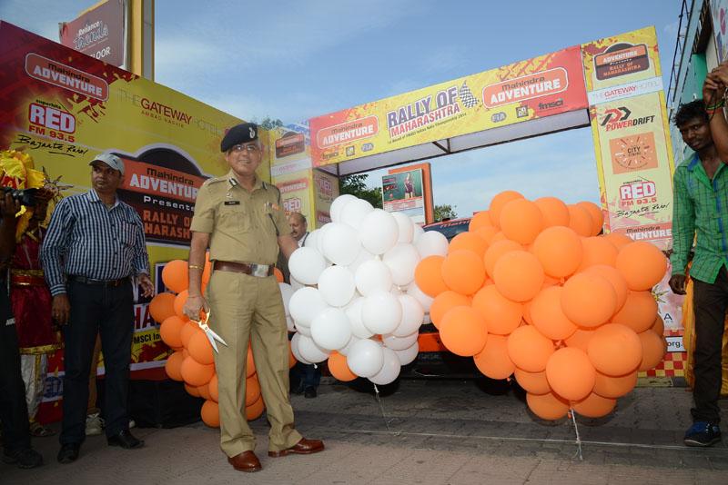 Ceremonial Flag Off Rally Of Maharashtra 2014 Wisa