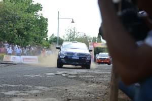 Thrilling action at Super Special Stage