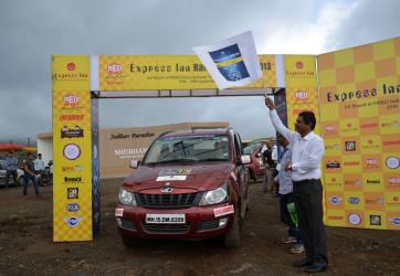 Express Inn Rally of Nashik 2013